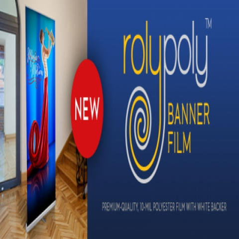 ESM-RPBF Roly-Poly Banner Film   Stanley's Sign & Screen